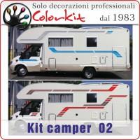 Adesivi camper Kit 02