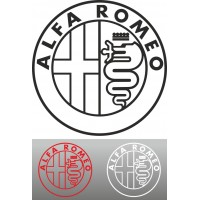 Alfa Romeo logo-2 (varie misure)