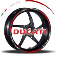 """Strisce per cerchi Ducati da 17"""""""