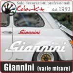 Scritta Giannini (varie misure)