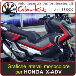 Kit monocolore per Honda X-ADV