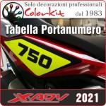 Porta numero per Honda X-ADV 2021