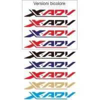 scritte X-ADV (coppia)