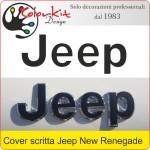 Cover per scritte Jeep Renegade 2014