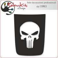 Bonnet Jeep Renegade con skull Punisher