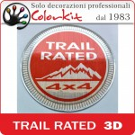 Trail rated 3D resinato