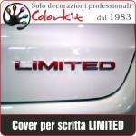 Cover per scritta LIMITED Jeep