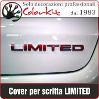 Cover per scritta LIMITED Jeep