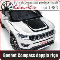 Bonnet doppia riga per Jeep Compass