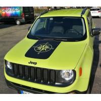 Bonnet Jeep Renegade con Rosa dei venti 05