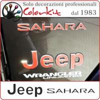 Cover per Jeep Wrangler Sahara 2018