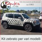 Kit auto zebrata