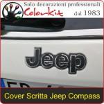 Cover per scritte Jeep Compass