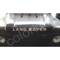 Scritta Land Rover
