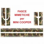 Fasce mimetiche/tartan Mini Countryman John Cooper Works