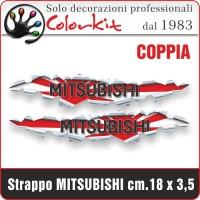 Effetto strappo Mitsubishi cm.18x3,5