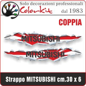 Effetto strappo Mitsubishi cm.30x6