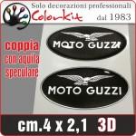 Moto Guzzi resinato cm.4x2,1 (Coppia)