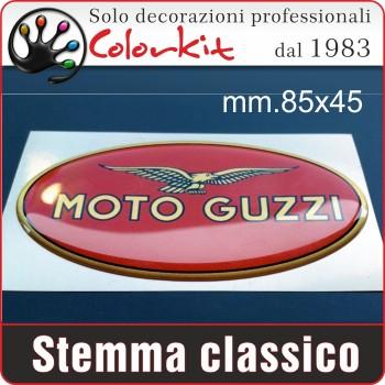Moto Guzzi classico resinato mm.85x45