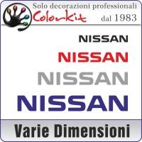 adesivo NISSAN (varie misure)