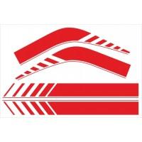 Fasce laterali 01 per Renault Trafic