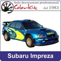 Livrea Subaru Impreza set adesivi