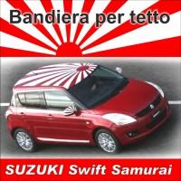 Bandiera per tetto Swift Samurai