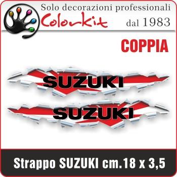 Effetto strappo Suzuki cm.18x3,5