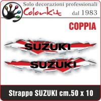 Effetto strappo Suzuki cm.30x6