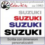 adesivo SUZUKI (varie misure)