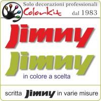 scritta Jimny (varie misure)