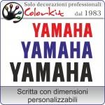 adesivo Yamaha (varie misure)