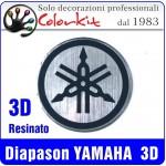 Diapason YAMAHA 3D tondo cm.4 e 5