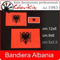 Bandiera Albania (varie misure)