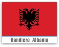 Bandiere Albania