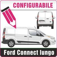 Ford Connect passo lungo configurabile