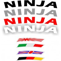 Strisce per cerchi Kawasaki Ninja
