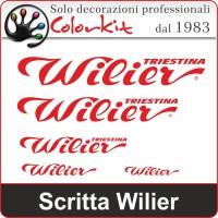 Scritta Wilier (varie misure)