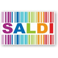 Adesivo Saldi 04 (Varie misure)