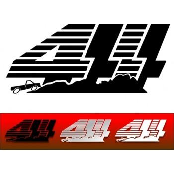 Adesivo 4x4 05