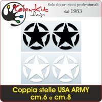 Stella USA ARMY cm.6 e cm.8