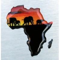 Africa elefanti cm 5,5x6 3D