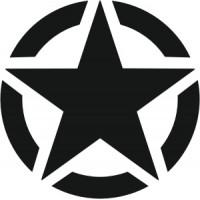 Stella USA ARMY 02 (varie misure)