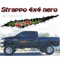 Strappo 4x4 Nero
