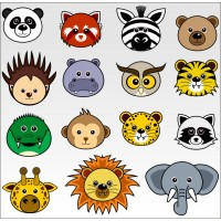 Animali buffi C01
