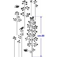 Fiori con uccellini