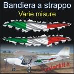 Effetto strappo bandiera Italia 01 (varie misure)