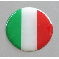Tricolore Italia Tondo cm 3