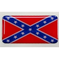 Bandiera confederazione 3D cm 7x3,5