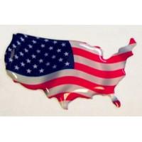 Bandiera USA Land 3D cm. 5 x 3